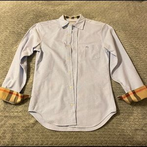 Burberry Brit Long Sleeve Button Down